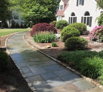 Hardscaping in Norfolk, MA: Landscaping Construction | Ten Four LLC - landscape-installation